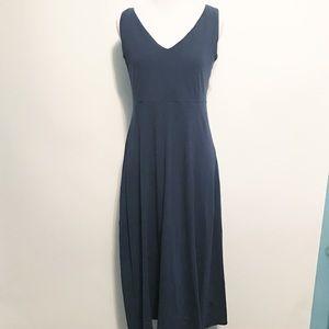 Eileen Fisher Organic Cotton Dress Midi Length